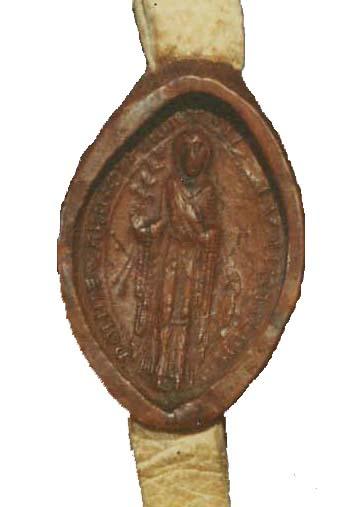 Seal of Matilda of Wallingford
