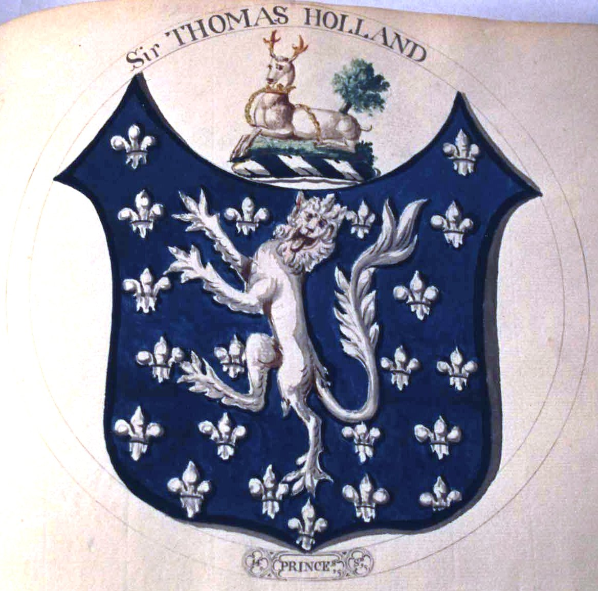Arms of Thomas Hollard, 1st Earl of Kent