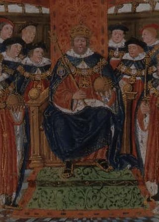 Henry VIII and his Garter Knights
