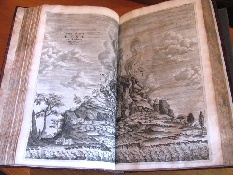 Mundus Subterraneus by A. Kircher