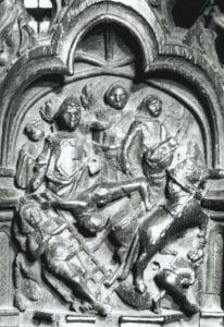 St George dragged through town