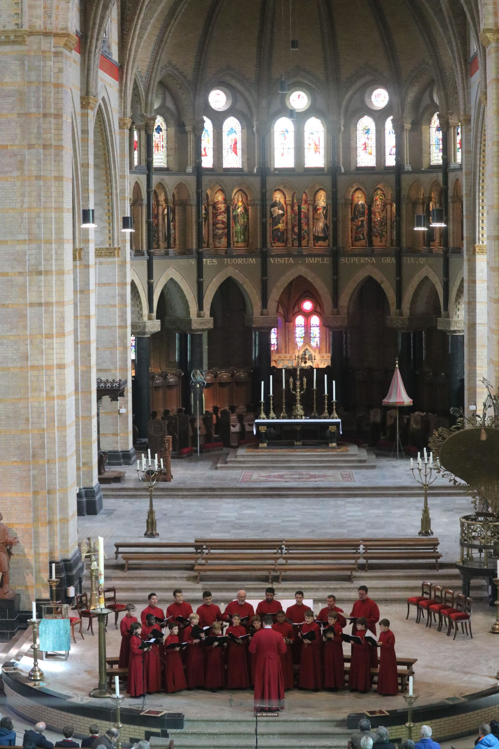 The Choir in St Bavo's Cathedral