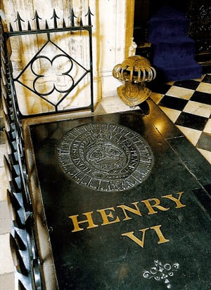 The tomb of Henry VI