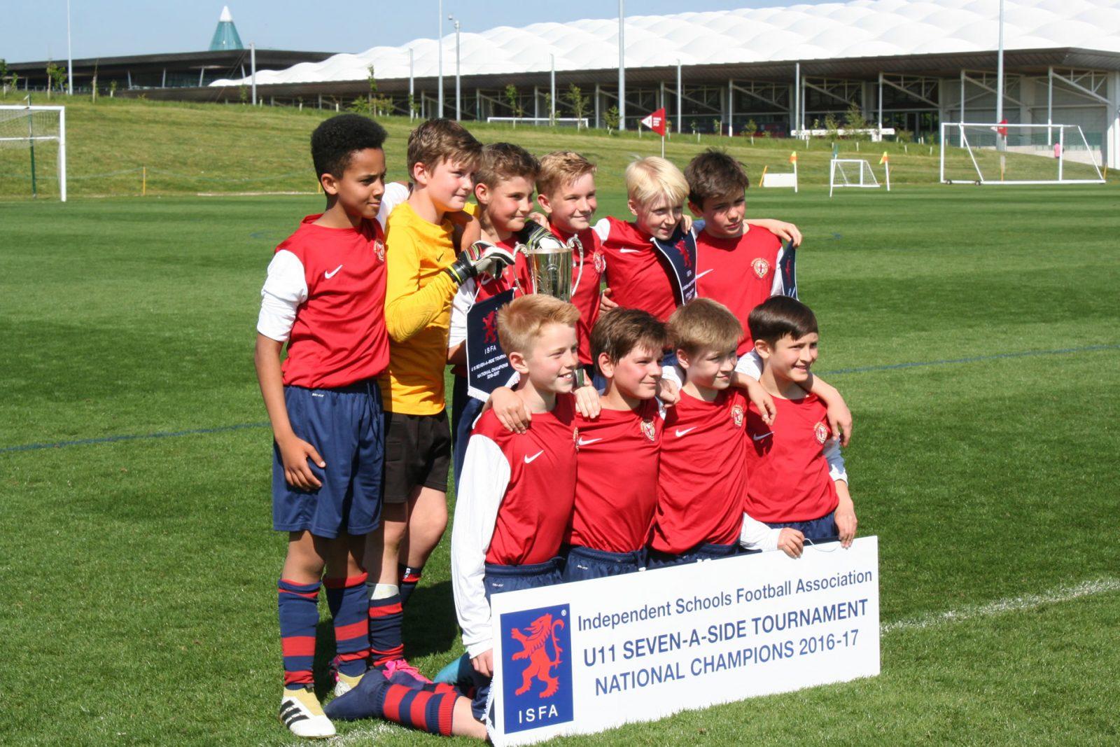 St George's School Under 11 football team