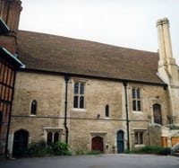 Image of the Vicars' Hall, which now houses the Archives