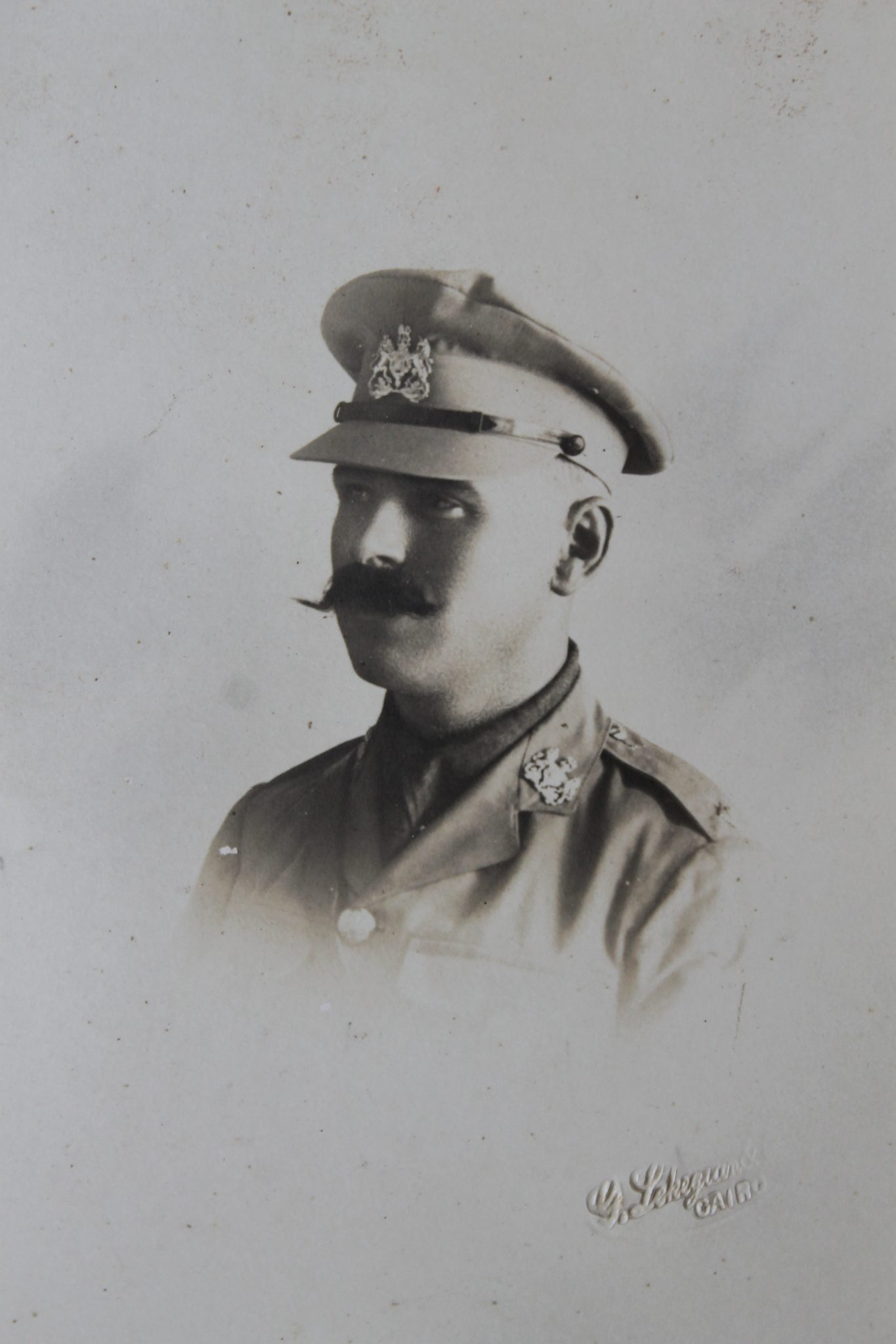 Headshot of Fred Naylor in military uniform