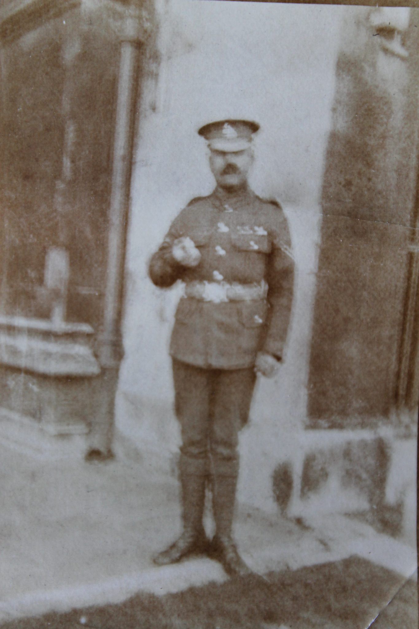 Fred Naylor in uniform