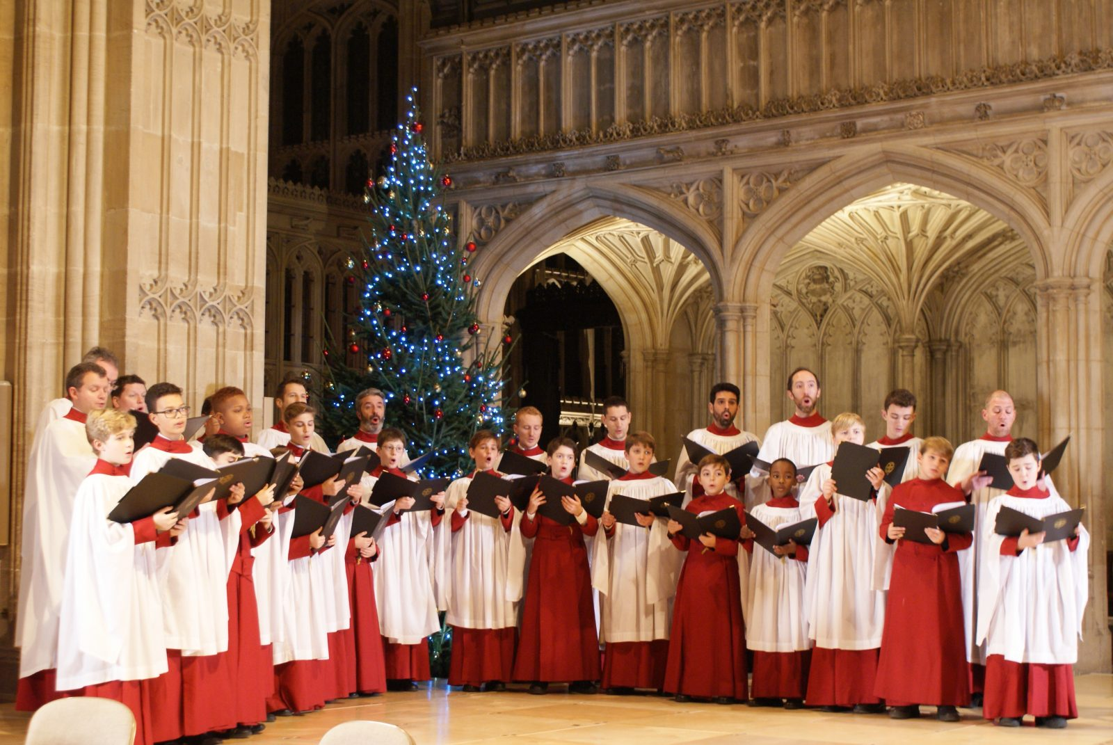 The Choir Of St Georges Chapel Windsor Castle Christmas 2020 St George's Chapel Choir sing Carol of the Bells   College of St