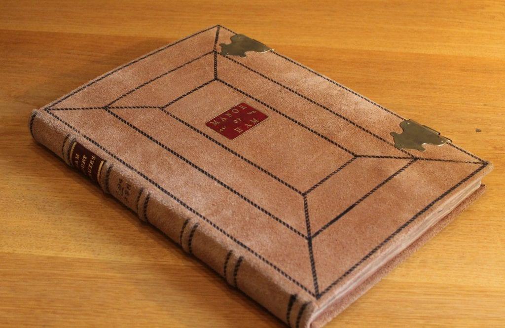 Ham Court volume (SGC CC 415776) after conservation.