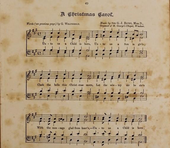2019 Christmas Music.The Christmas Carol In Victorian England Thursday 5